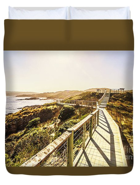 Coastal Way Duvet Cover