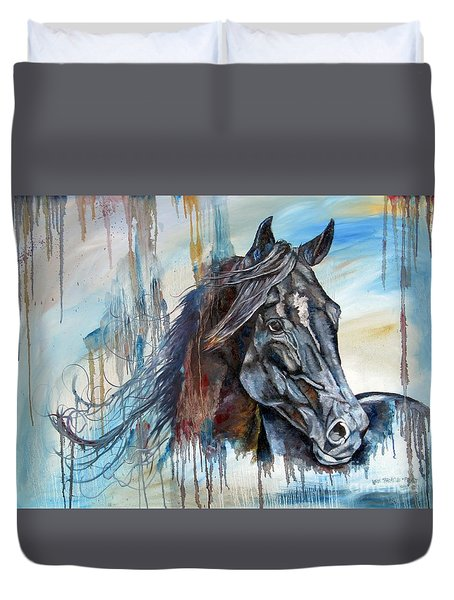 Coat Of Many Colors Duvet Cover