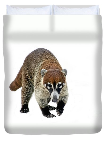 Coatimundi Duvet Cover