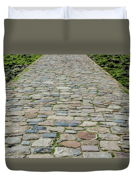 Cobbled Causeway Duvet Cover