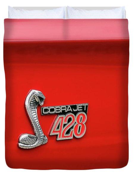 Cobra Jet 428 Duvet Cover by Gordon Dean II