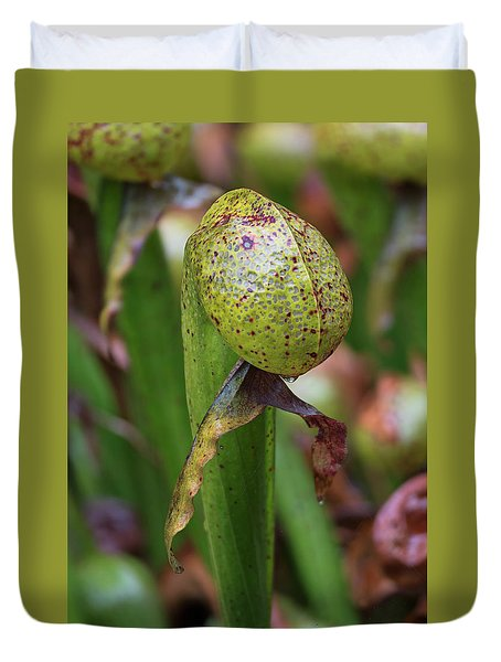 Cobra Lily Duvet Cover