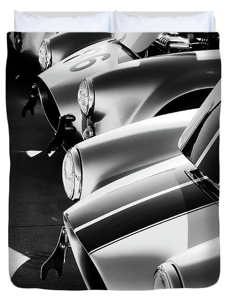 Cobra Pit Duvet Cover by Douglas Pittman