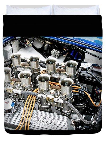 Cobra Power With Weber Carbs Duvet Cover