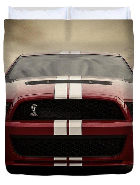 Cobra Red Duvet Cover