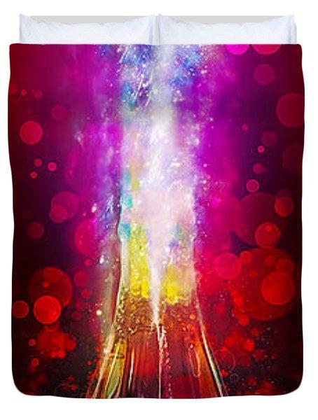 Coca-cola Dream Big Duvet Cover