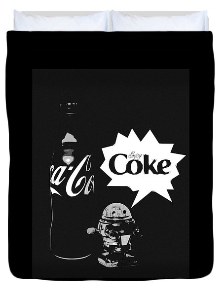 Coca-cola Forever Young 9 Duvet Cover
