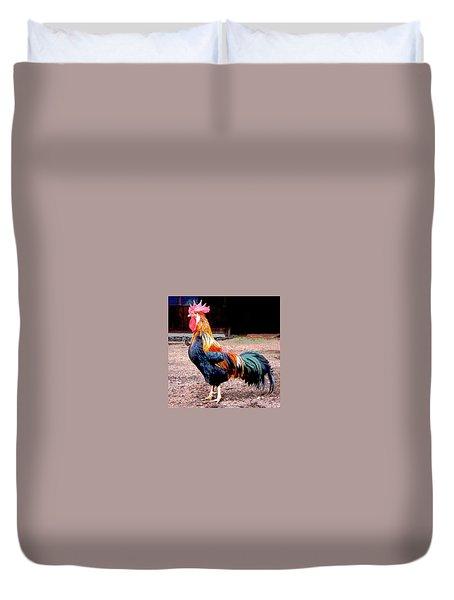 Cock A Doodle Doo Duvet Cover