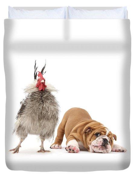 Cock N Bull Duvet Cover