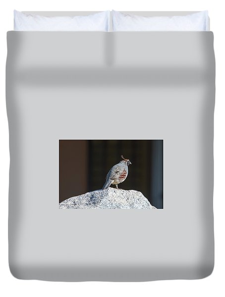Cock Of The Rock Duvet Cover