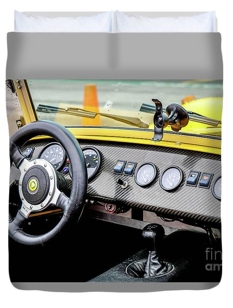Cockpit 7 Duvet Cover