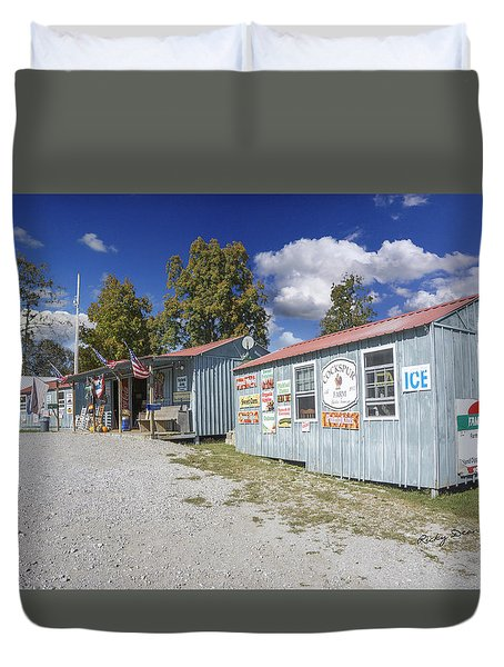 Cockspur Farm Duvet Cover by Ricky Dean