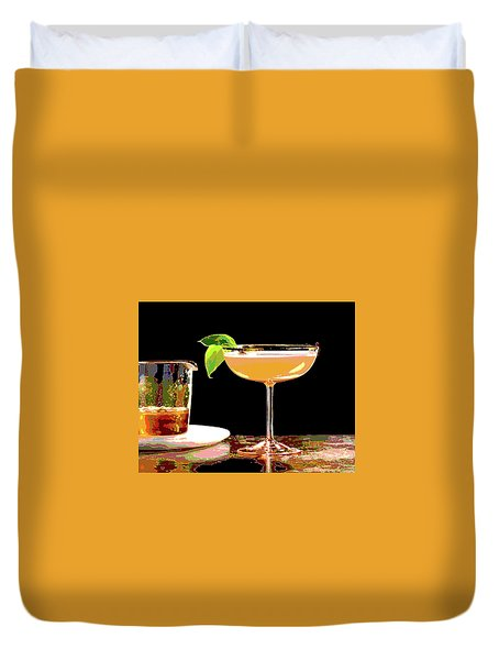 Cocktail And Dreams Duvet Cover