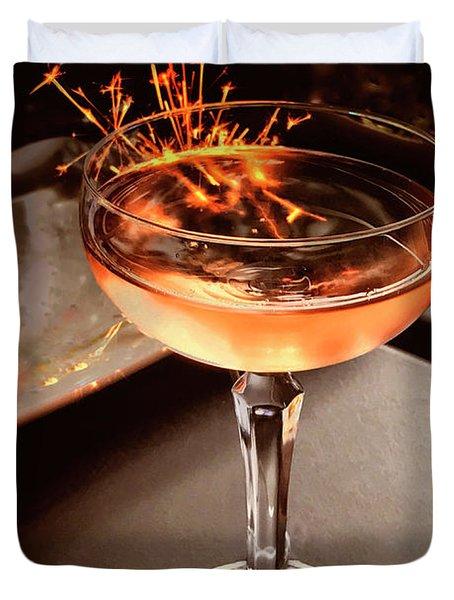 Cocktail Dazzle Duvet Cover