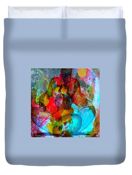 Cocktail Duvet Cover by Fania Simon