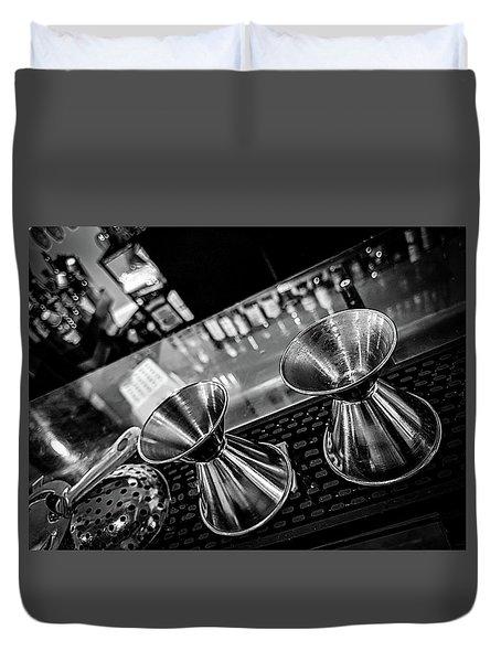 Cocktail Preparation Duvet Cover