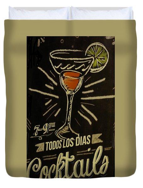Cocktails Duvet Cover by Matthew Bamberg