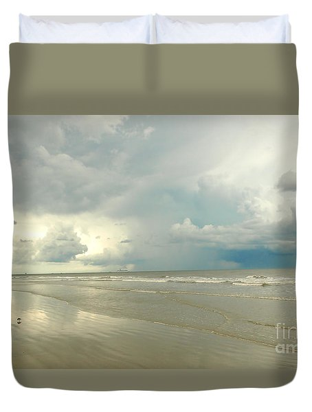Coco Beach Duvet Cover