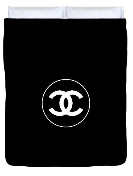 Coco Chanel Duvet Cover