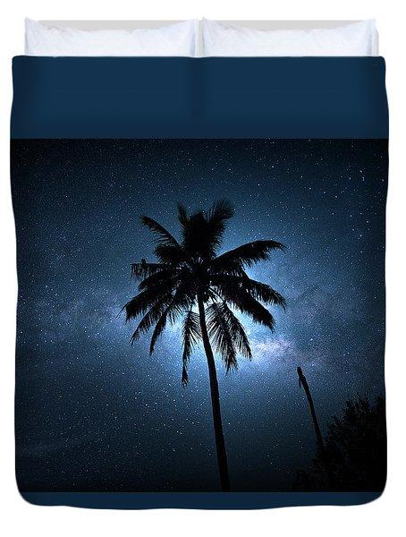 Coconut Milky Way  Duvet Cover