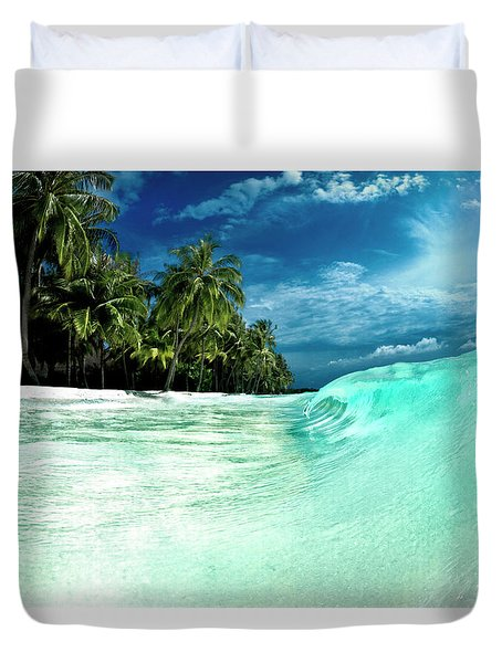 Coconut Water Duvet Cover