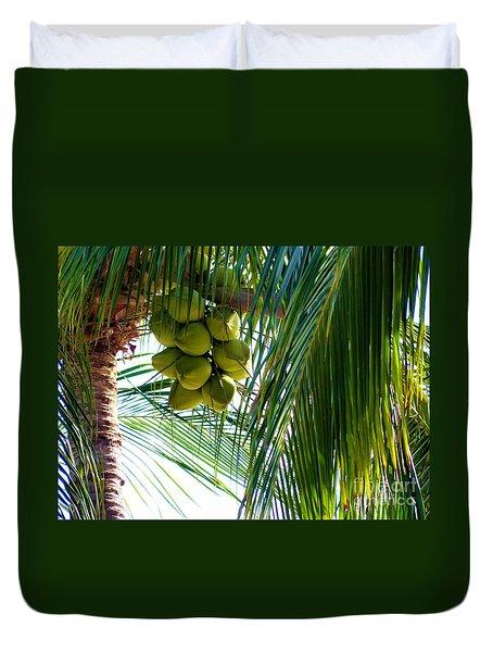 Coconuts Duvet Cover