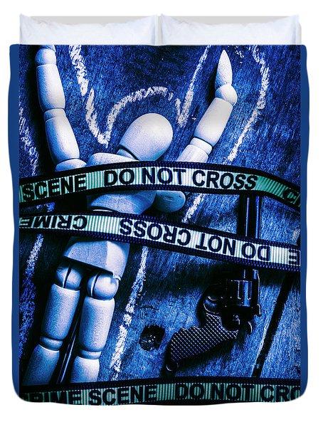 Code Blue Csi Duvet Cover