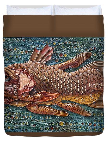 Coelacanth Duvet Cover