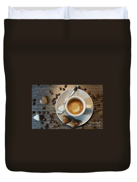 Coffee #1 Duvet Cover