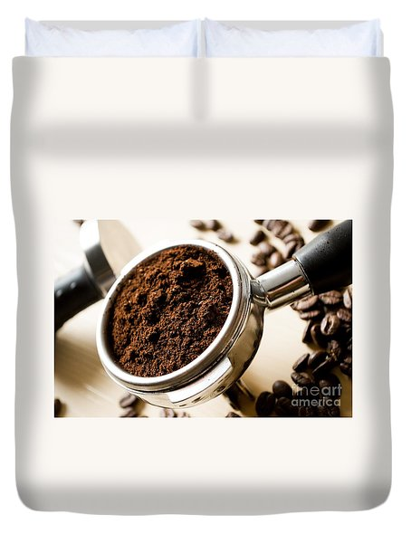 Coffee #10 Duvet Cover