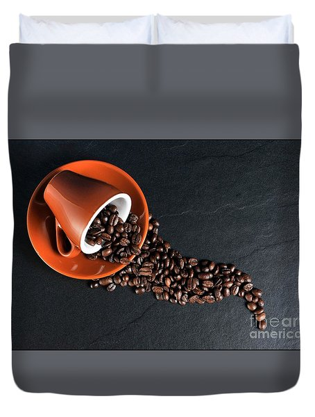Coffee #2 Duvet Cover