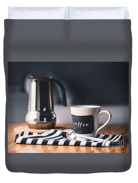Coffee #5  Duvet Cover
