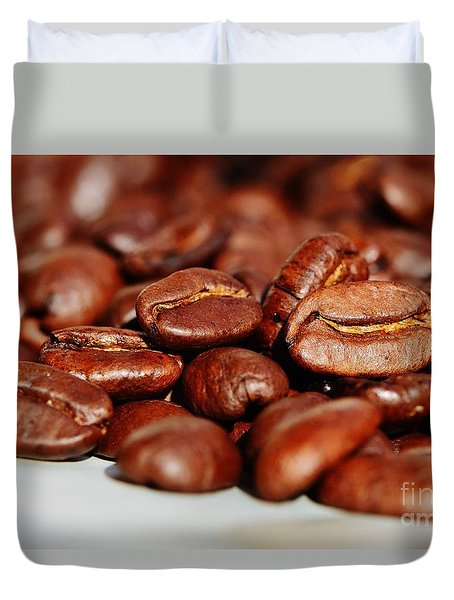 Coffee #6  Duvet Cover