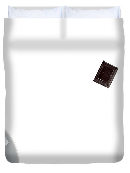 Duvet Cover featuring the photograph Coffee And Chocolade by Gert Lavsen