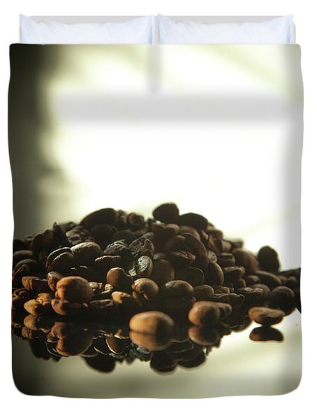 Coffee Beans Duvet Cover