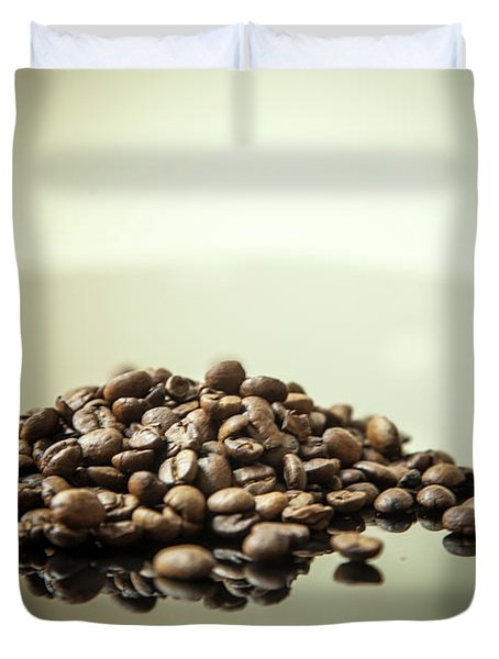 Coffee Beans, No.2 Duvet Cover