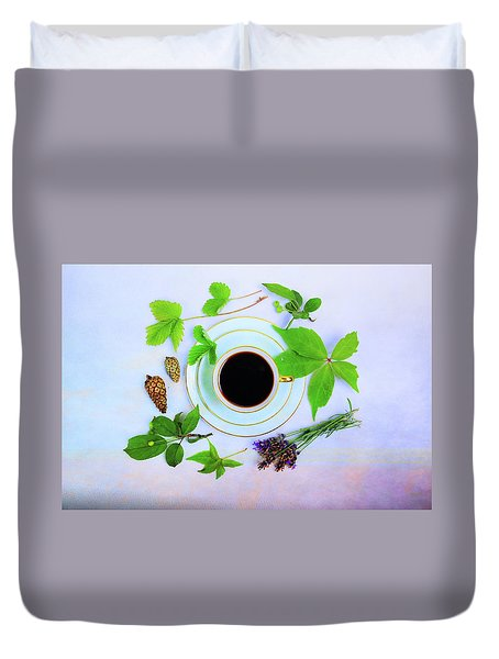 Coffee Delight Duvet Cover