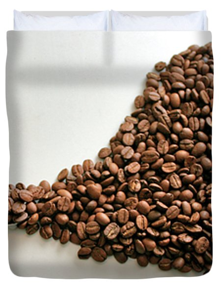 Coffee Lover Duvet Cover