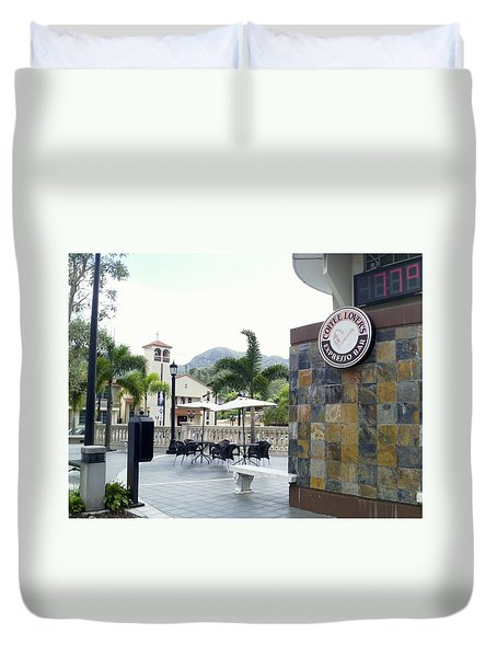 Coffee Lover's Expresso Bar 3 Duvet Cover
