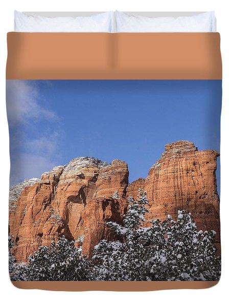 Coffee Pot Leads The Way Duvet Cover