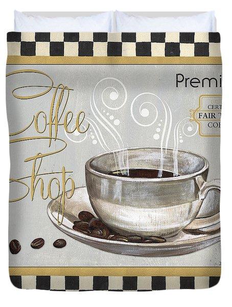 Coffee Shoppe 2 Duvet Cover