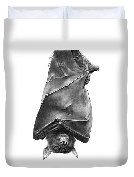 Coffie The Fruit Bat Duvet Cover