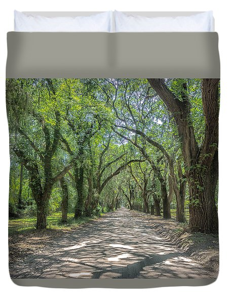 Coffin Point Roadway Duvet Cover