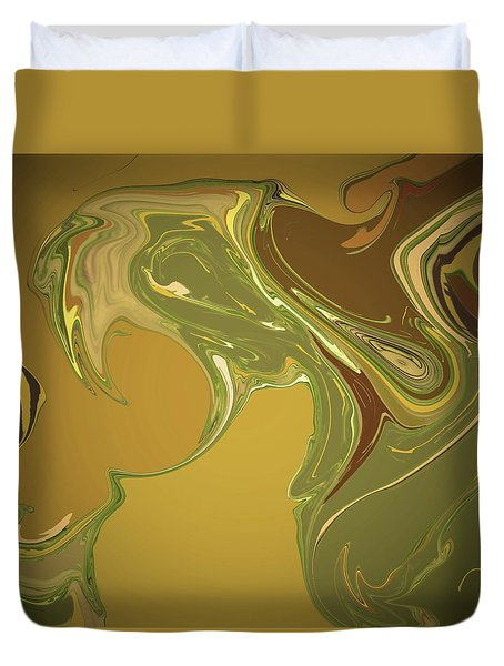 Cognac And Cigars Duvet Cover