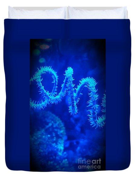 Coil Coral Duvet Cover