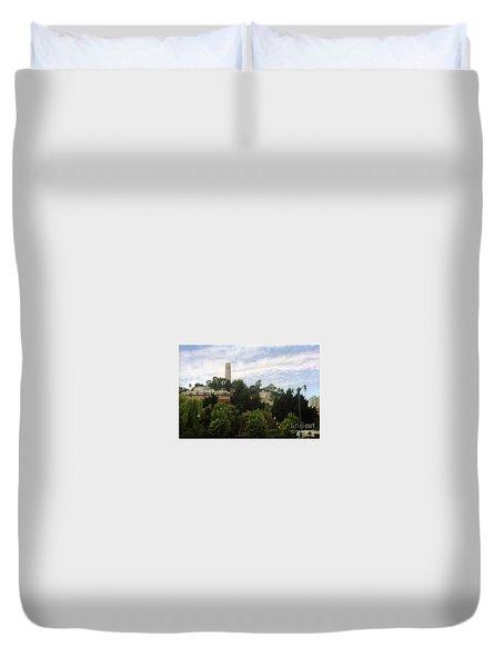 coit Tower San Francisco Duvet Cover