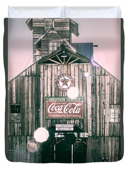 Coke Barn Duvet Cover by Wade Brooks