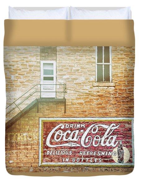 Coke Classic Duvet Cover by Darren White