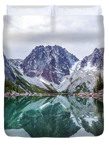 Colchuck Lake Duvet Cover