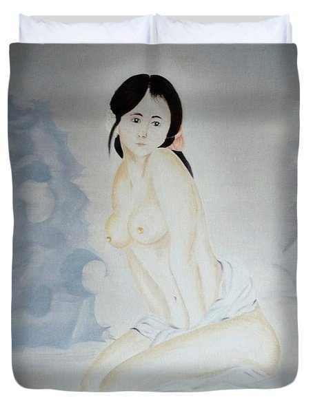 Cold Beauty Duvet Cover